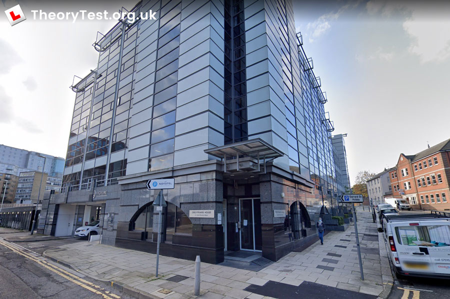 reading theory test centre